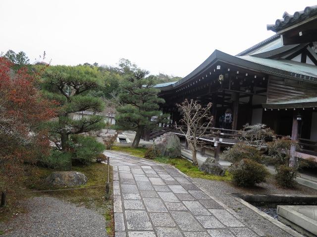 苔寺(西芳寺)の境内