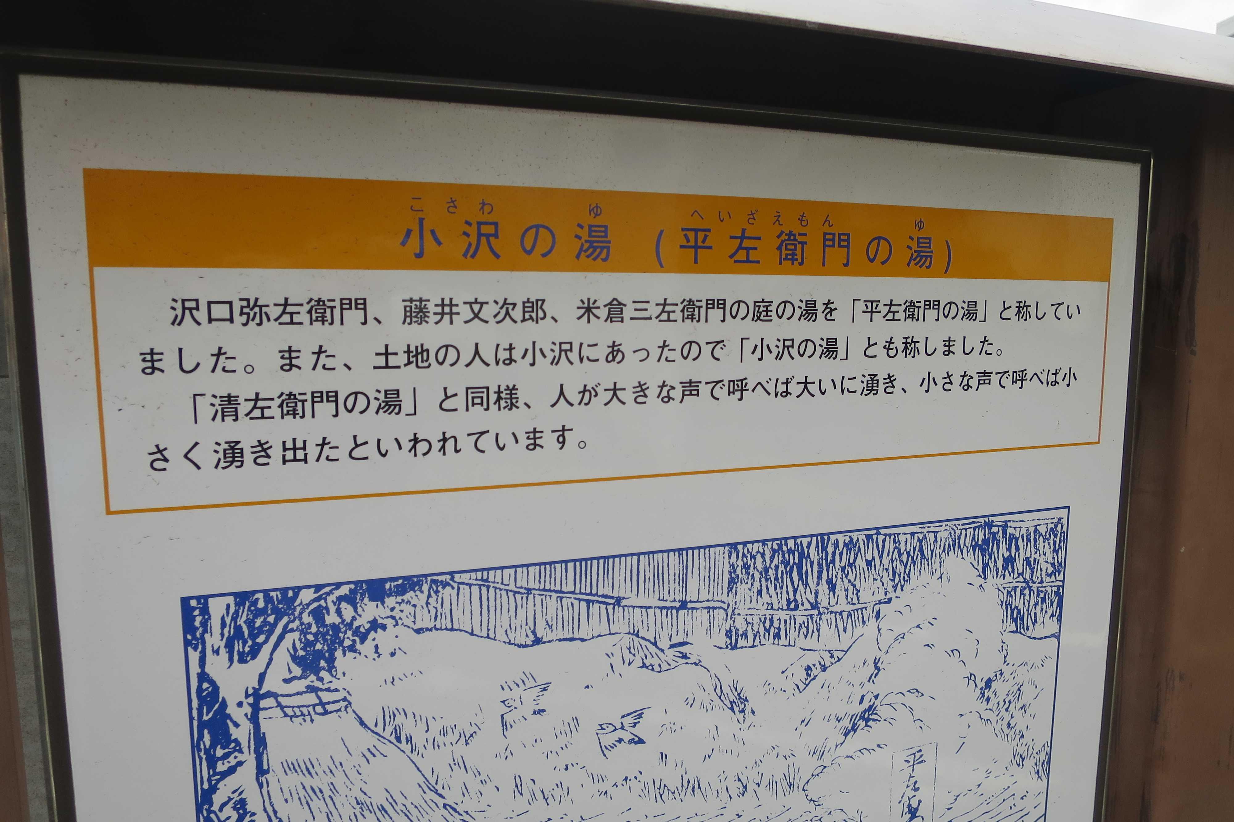 小沢の湯・平左衛門の湯