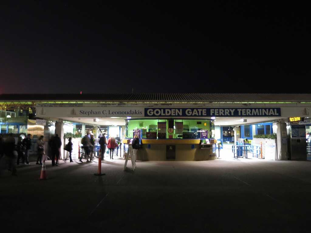 GOLDEN GATE FERRY TERMINAL