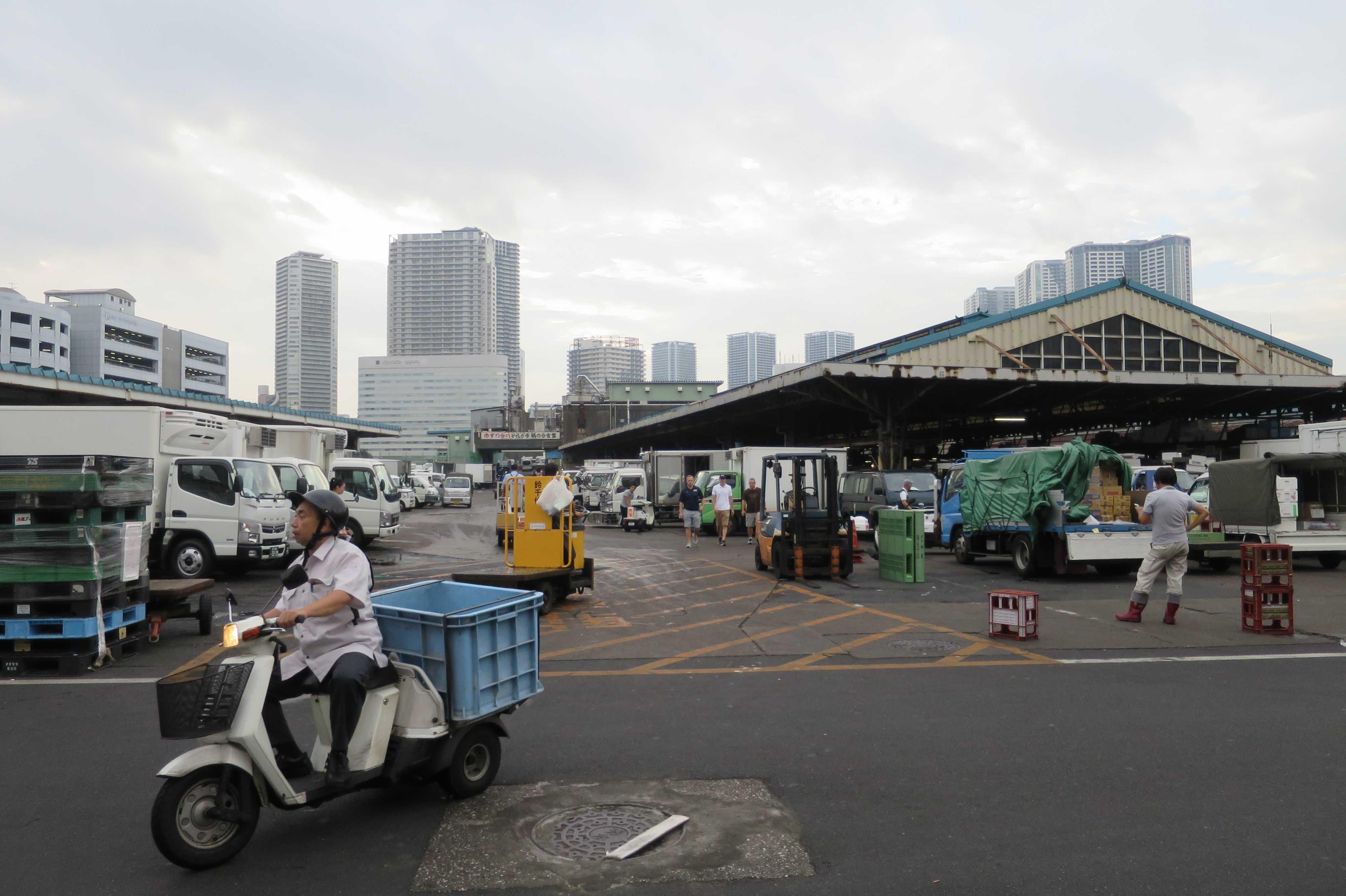 築地市場 - 東京都中央区