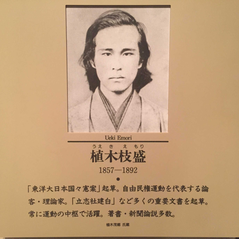 植木枝盛(うえきえもり/Ueki Emori) 1857-1892