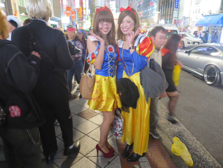 渋谷ハロウィーン - 白雪姫コス