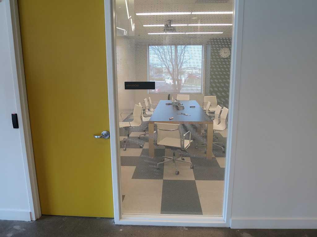 EVERNOTE(エバーノート)本社の会議室