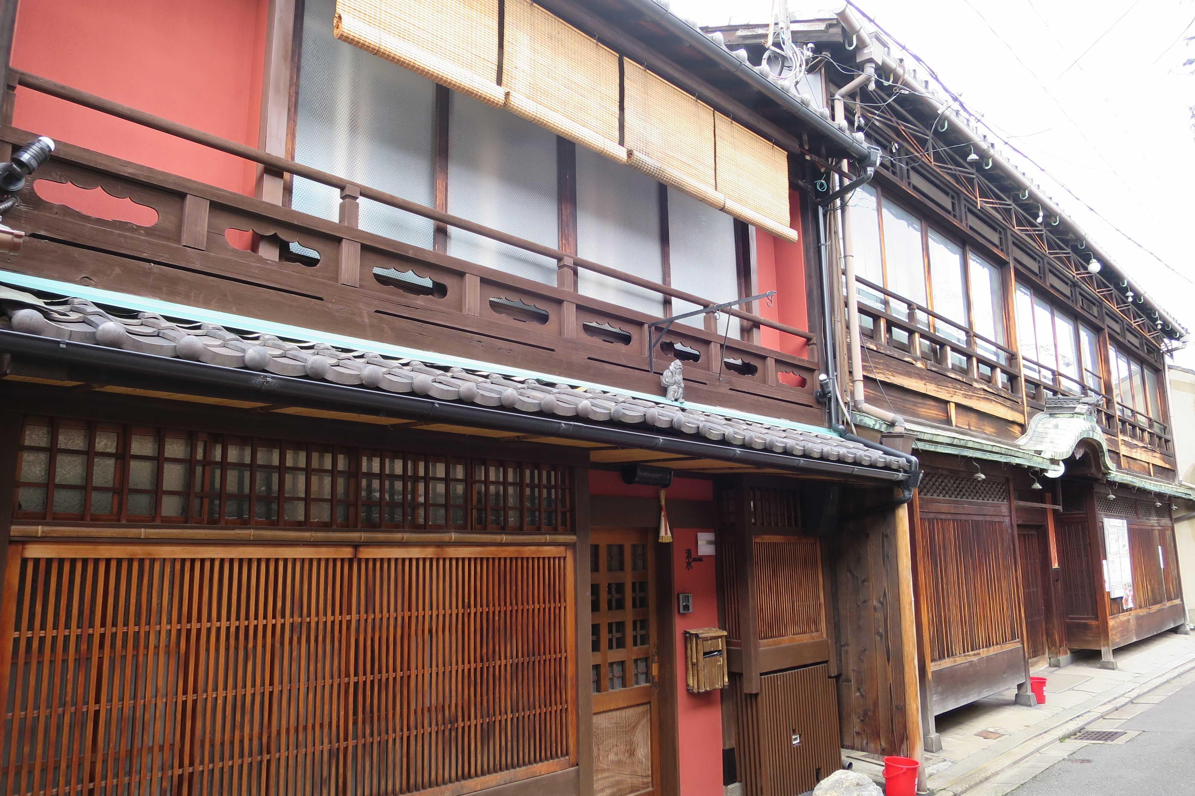 観光地ではない平成の京都の町並み