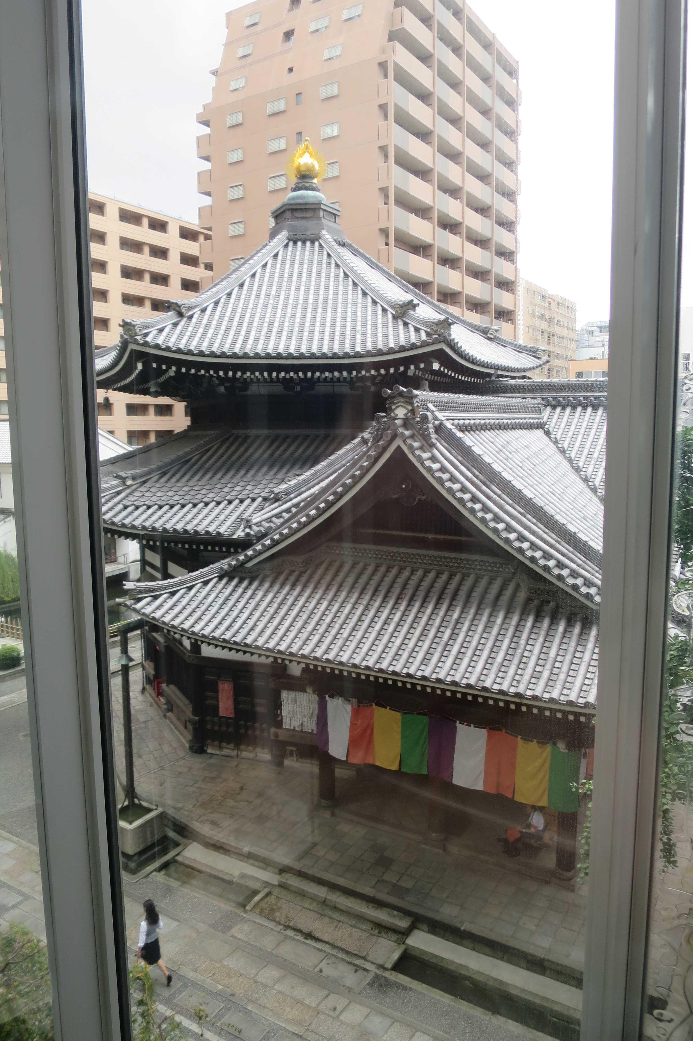 京都・六角堂 - 展望エレベーター