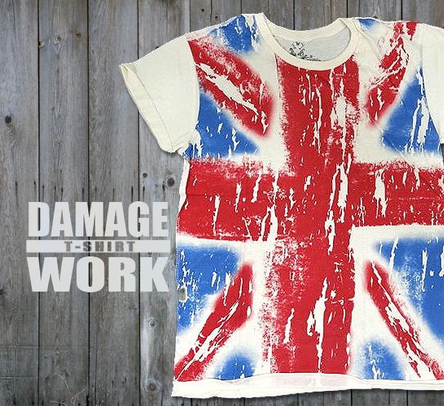 ユニオンジャック(英国旗)のロックTシャツ