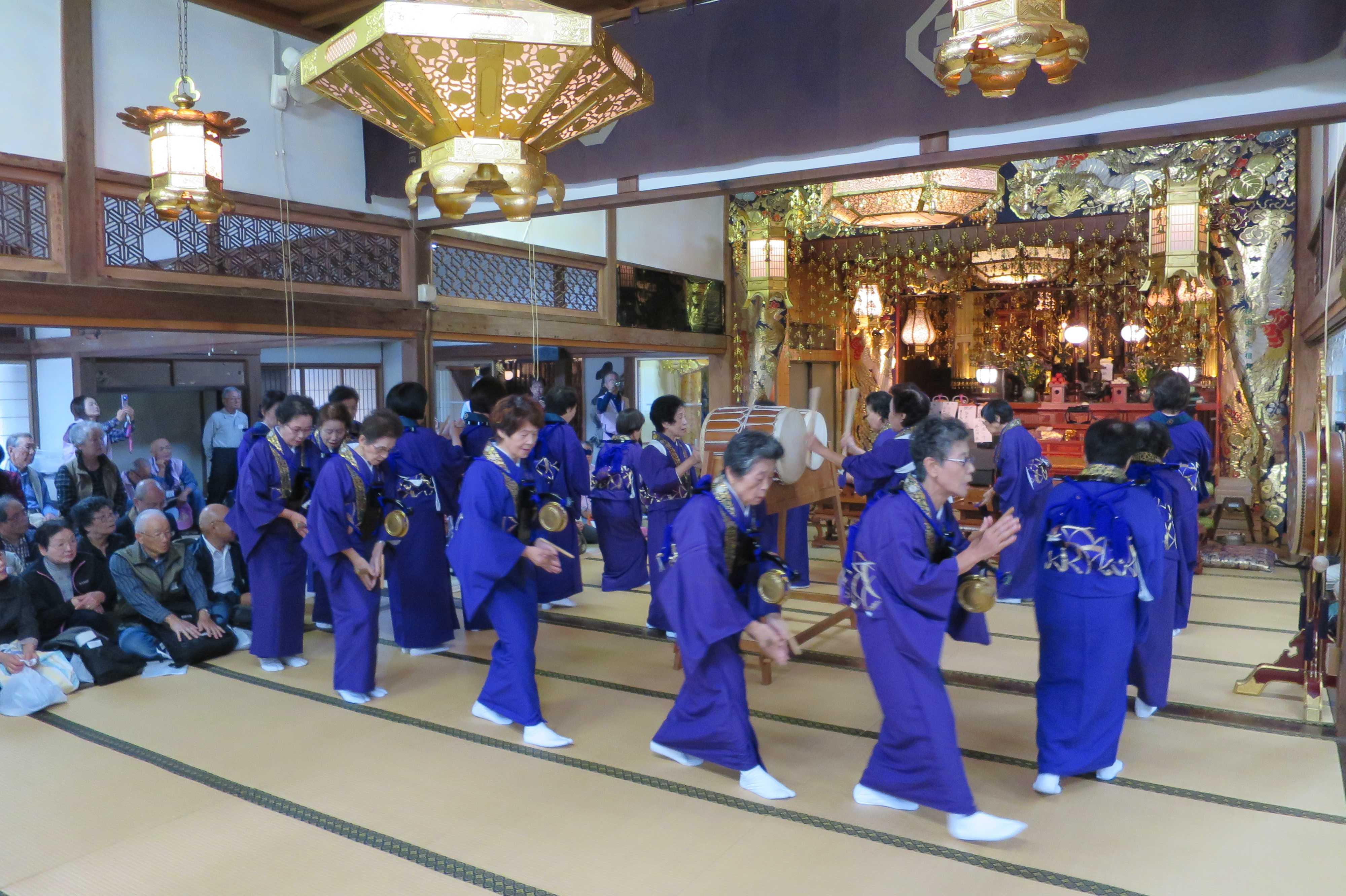 無量光寺の踊り念仏