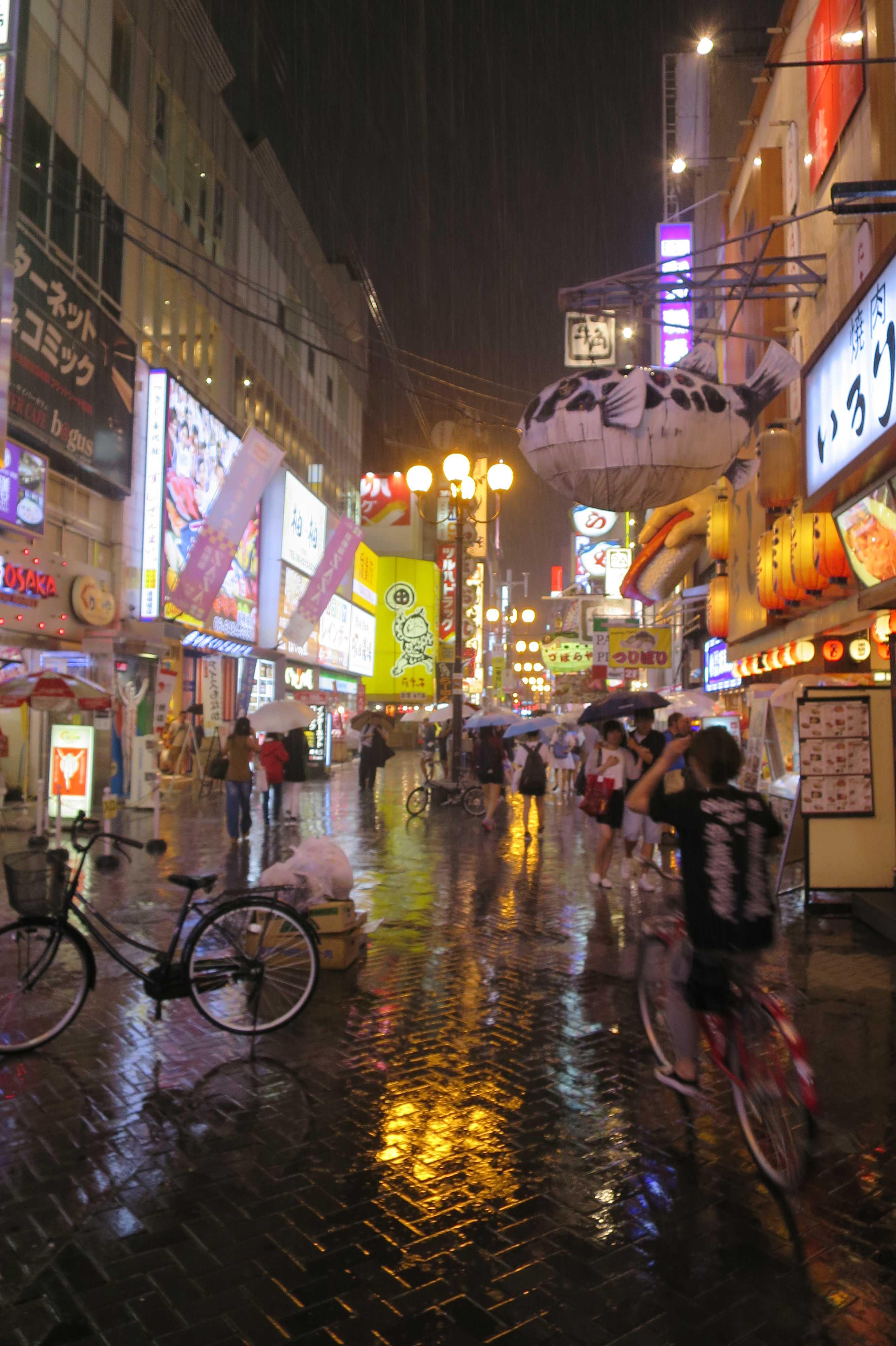 大阪 - 道頓堀筋(道頓堀商店会)