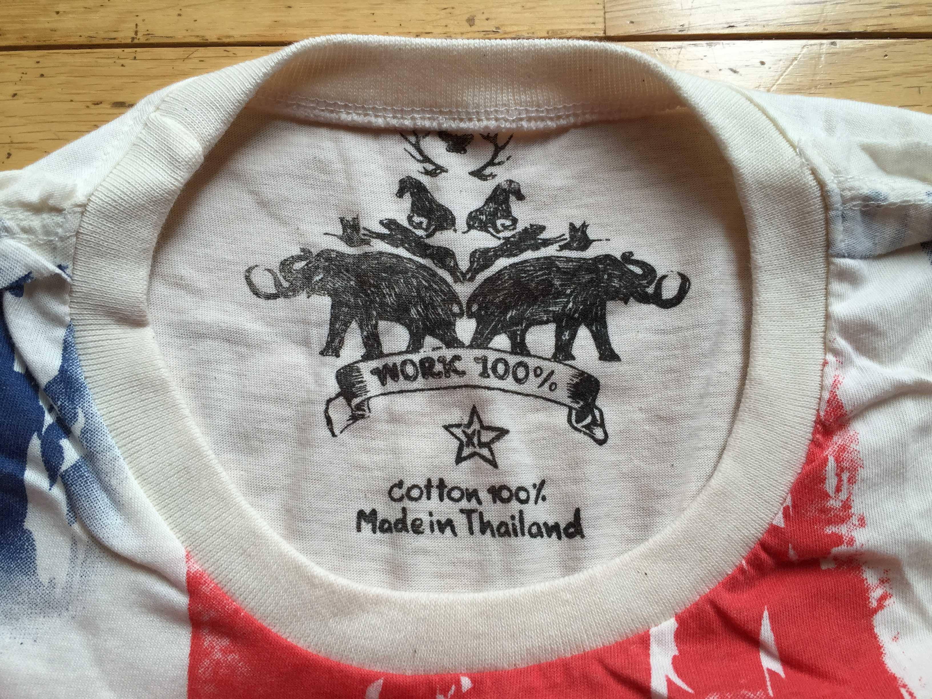 コットン100% Made in Thailand