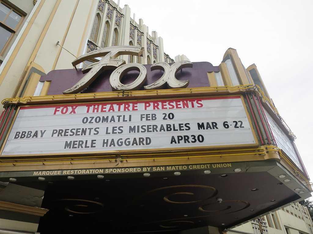 レッドウッドシティ - フォックスシアター(FOX THEATRE)