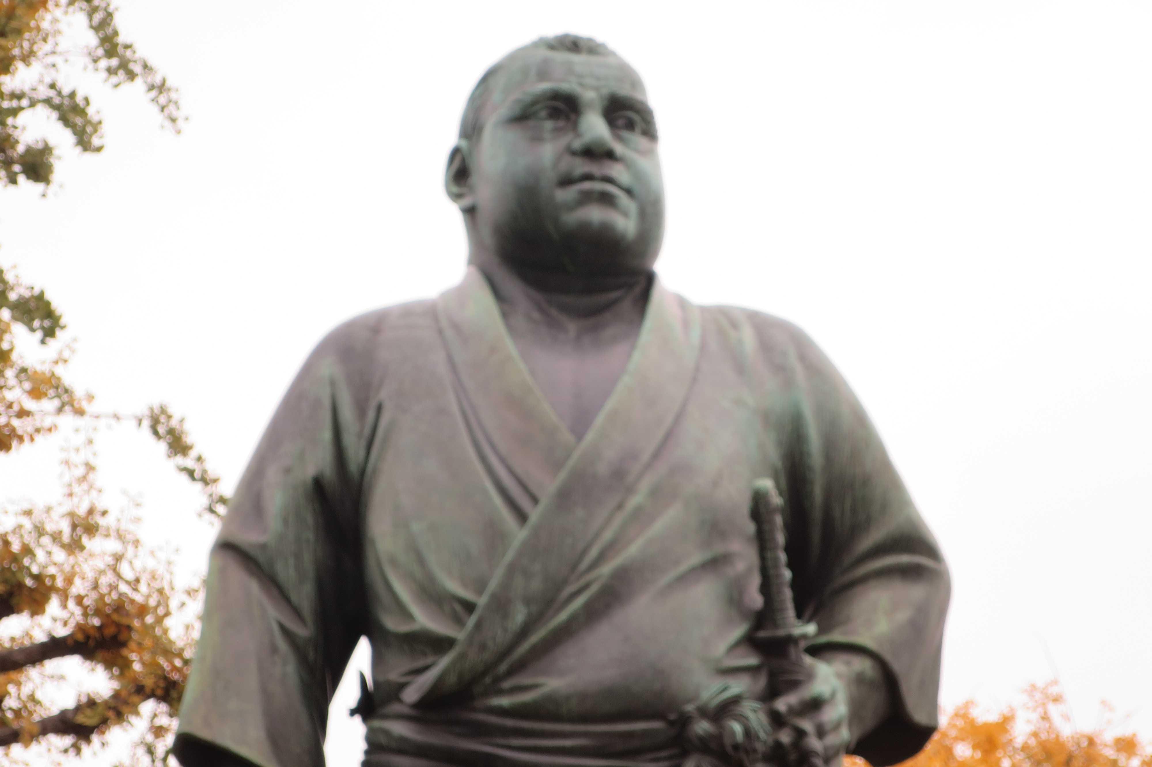 大西郷の銅像 - 上野公園