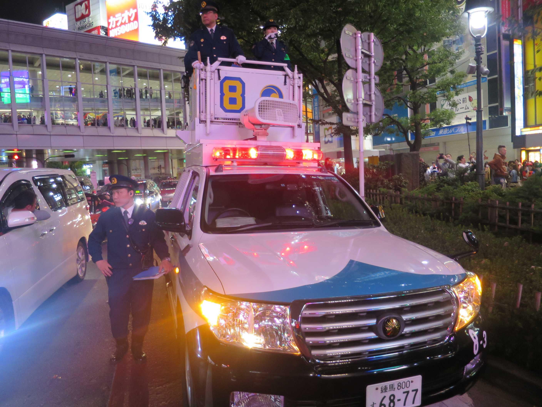 渋谷ハロウィーン - 女性DJポリス