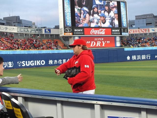 広島カープ マイク・ザガースキー投手