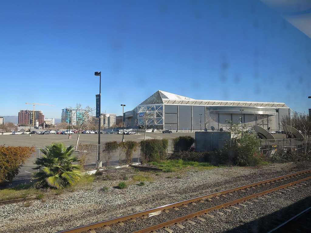 カルトレインの車窓 52 - SAPセンター・アット・サンノゼ(SAP Center at San Jose)