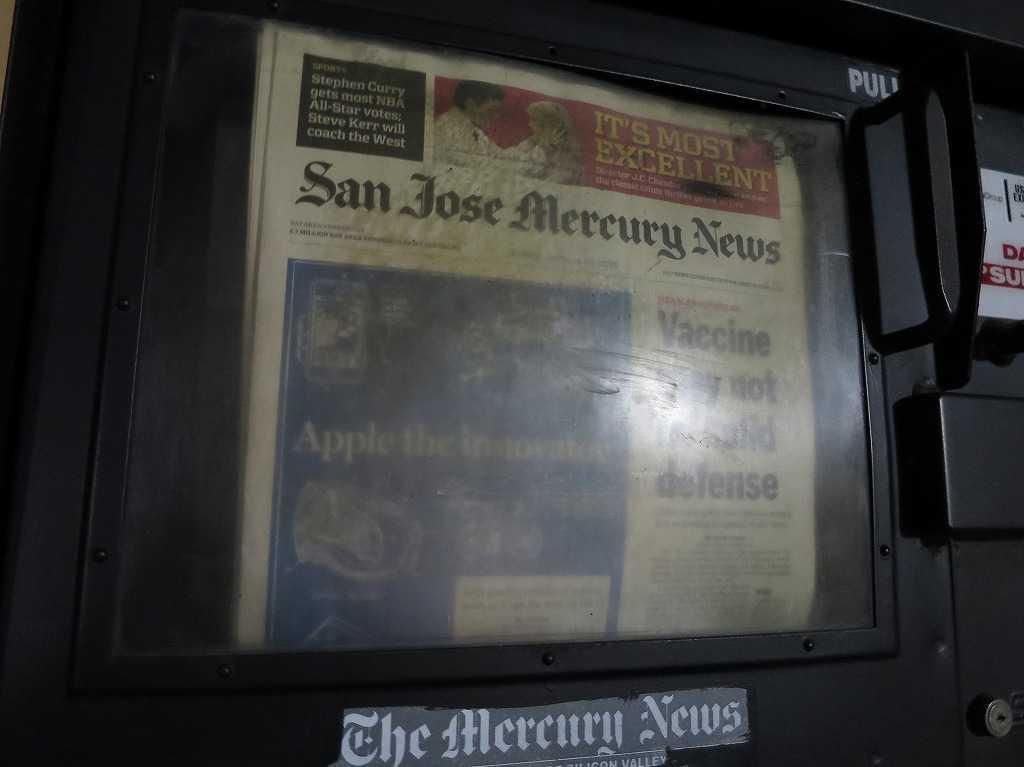 San Jose Merrcury News(サンノゼ・マーキュリー・ニュース)