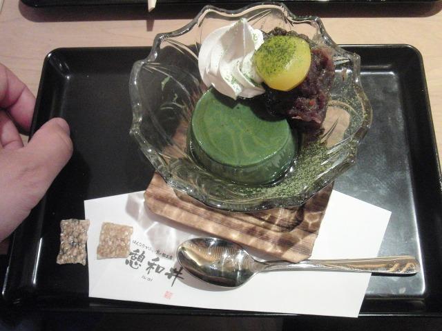 京都の抹茶プリン