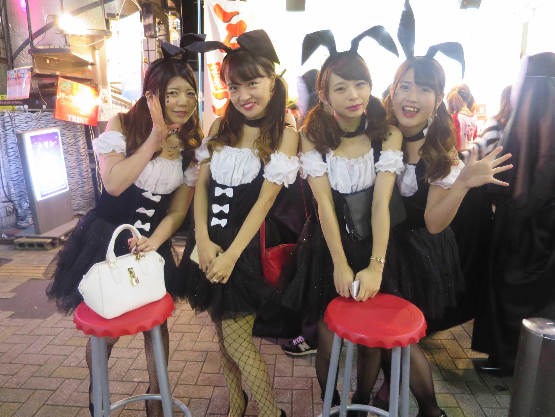 渋谷ハロウィン - バニーガール