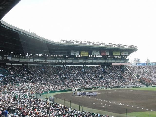 夏の高校野球(阪神甲子園球場) - 第96回全国選手権大会