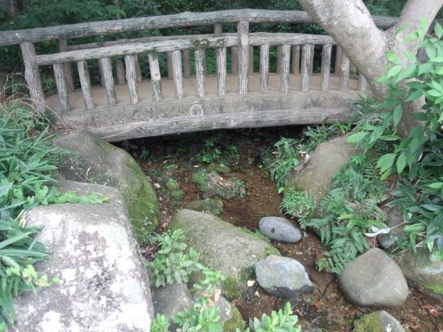 黒川清流公園の橋