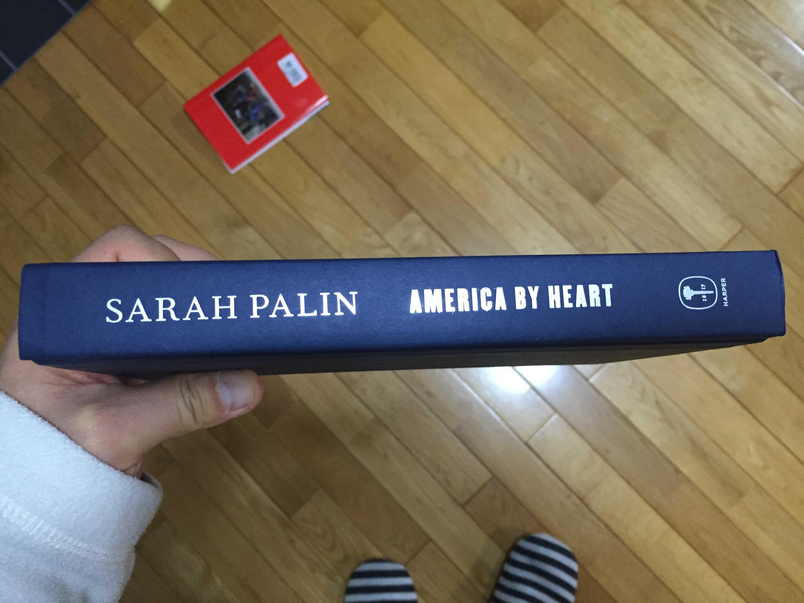 Sarah Palin 直筆サイン本