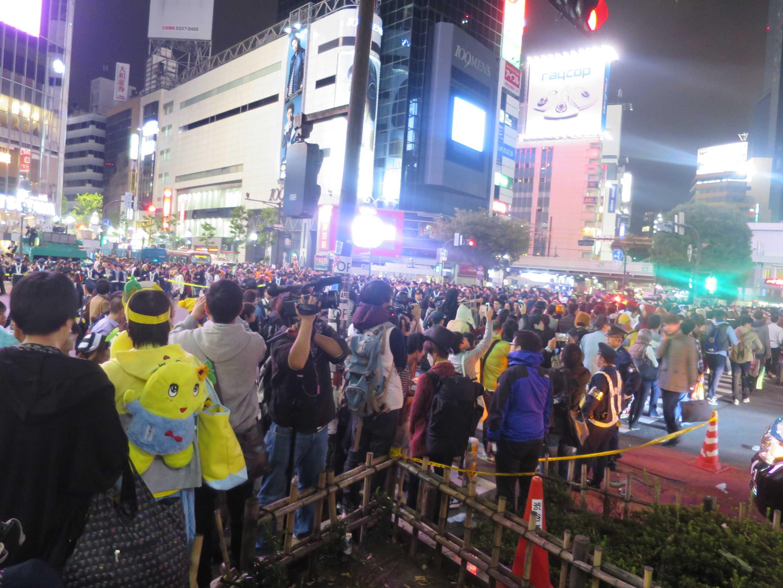 渋谷ハロウィーン - 渋谷のスクランブル交差点