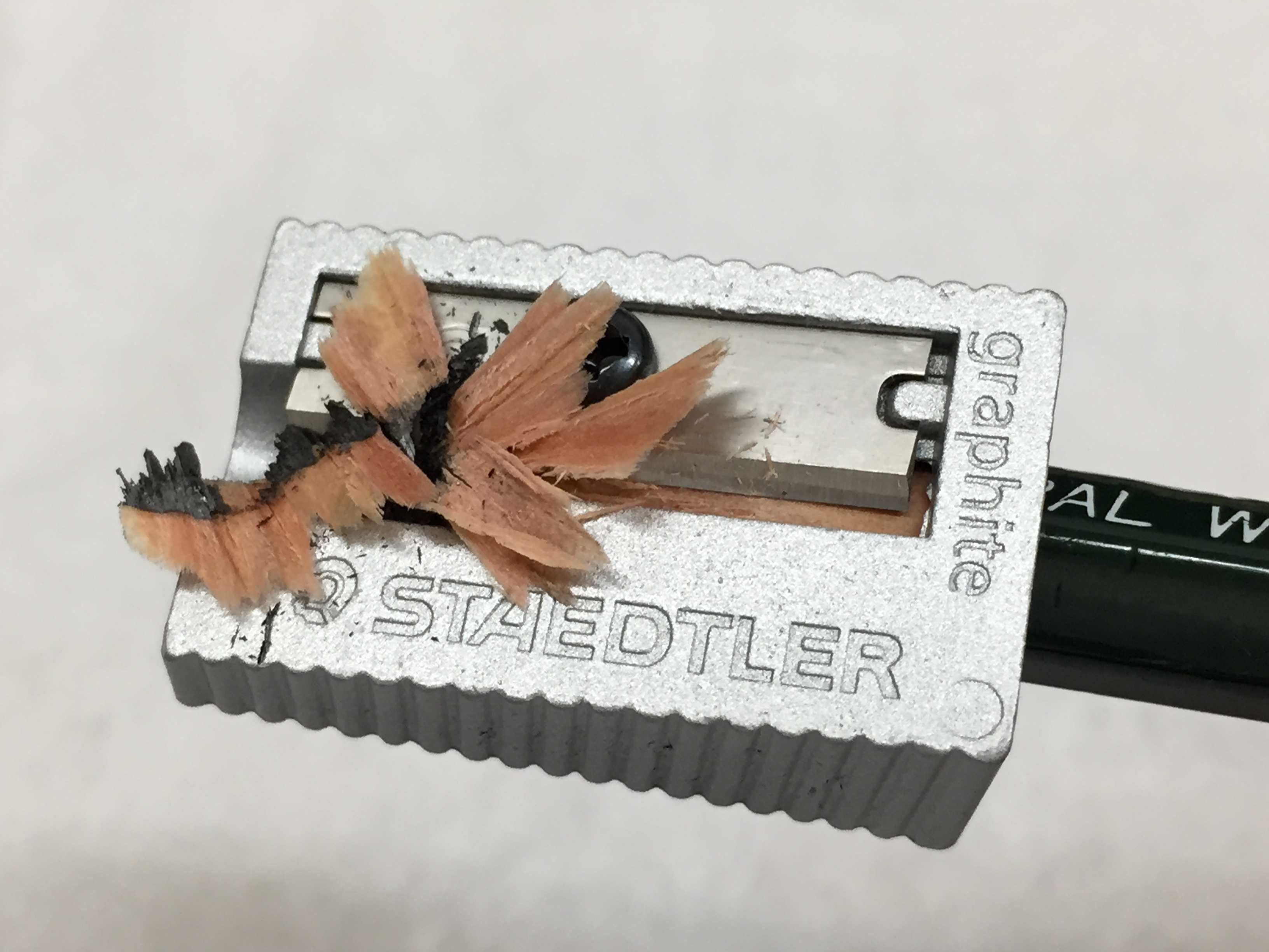 ステッドラー シャープナー 510 10 の削り心地