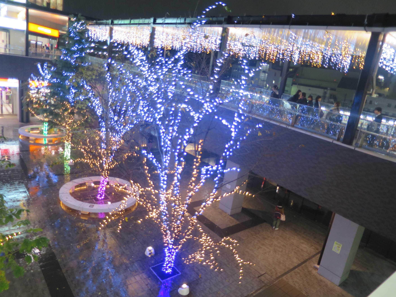八王子駅南口のイルミネーション