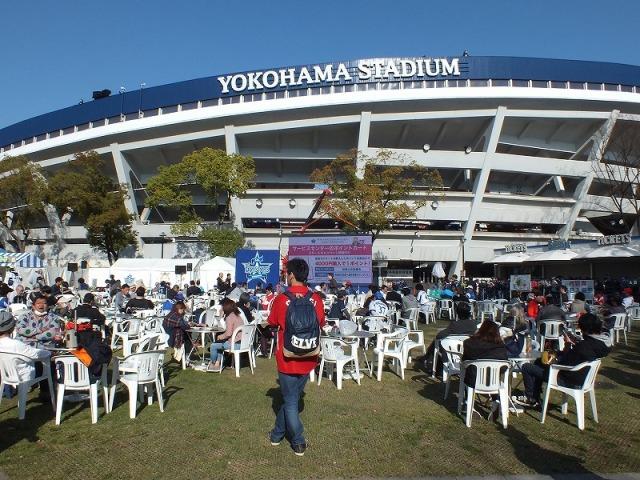横浜スタジアム(ハマスタ)の「BAYガーデン」