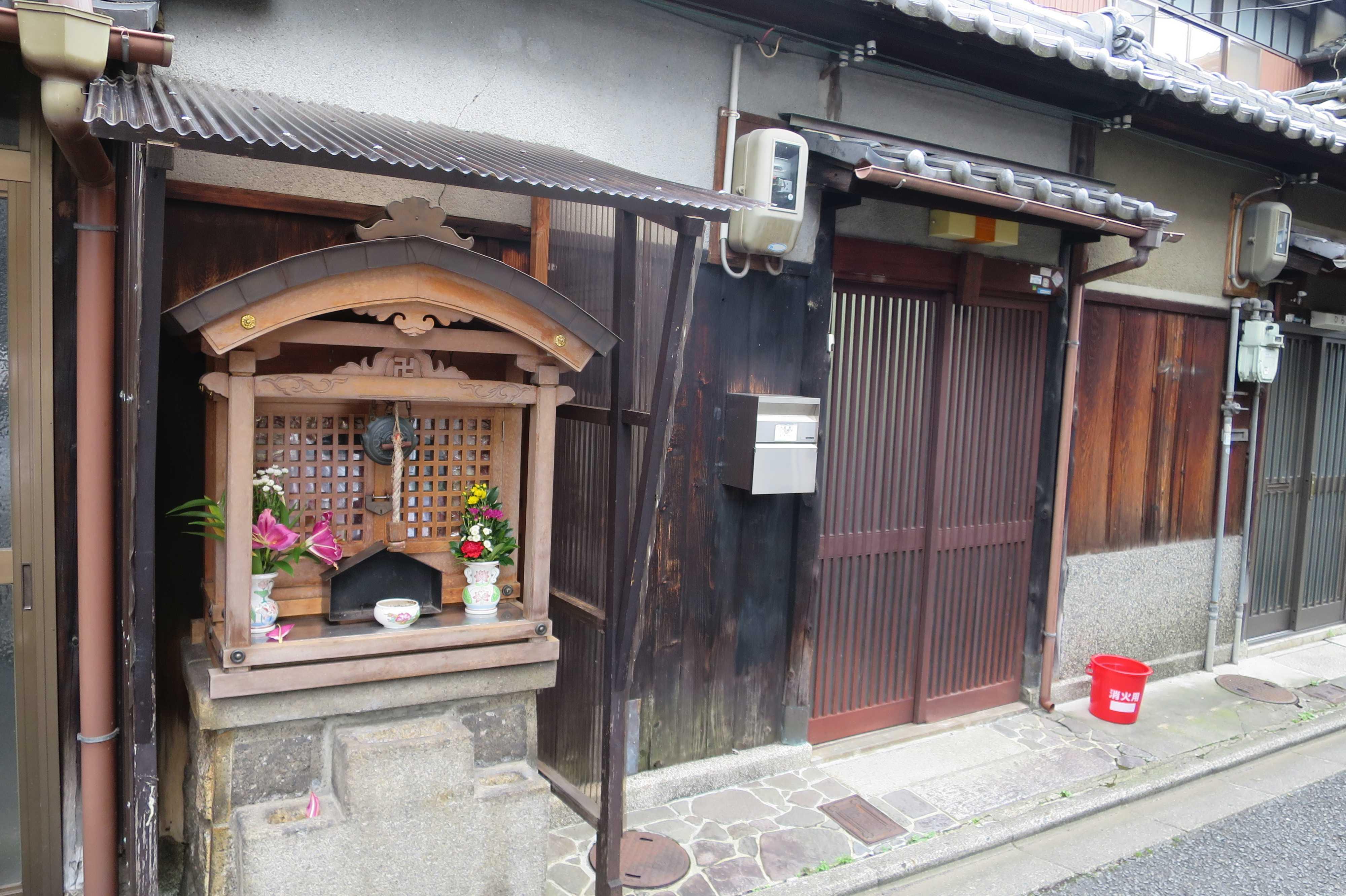 京都・五条楽園のお地蔵さん
