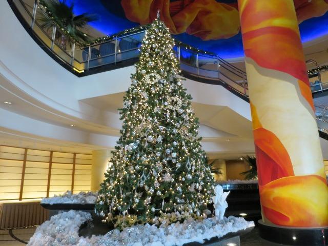横浜ベイホテル東急のクリスマスツリー