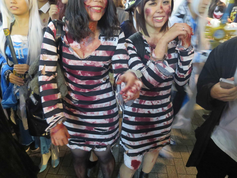 渋谷ハロウィン - 囚人番号入り囚人服