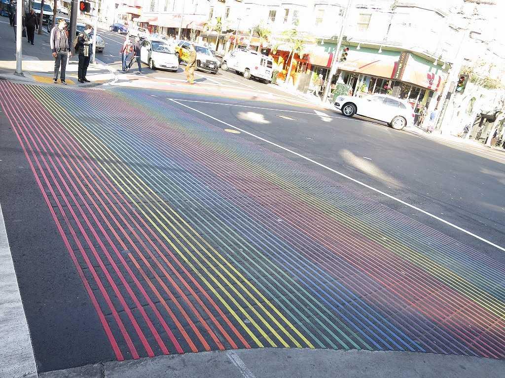 カストロ - 虹色横断歩道