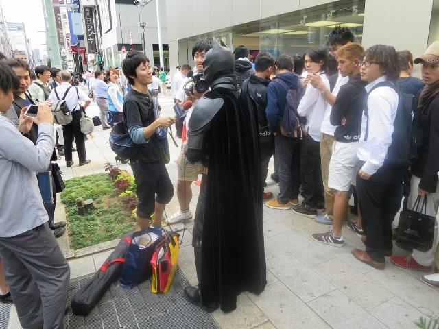 バットマンの後ろ姿