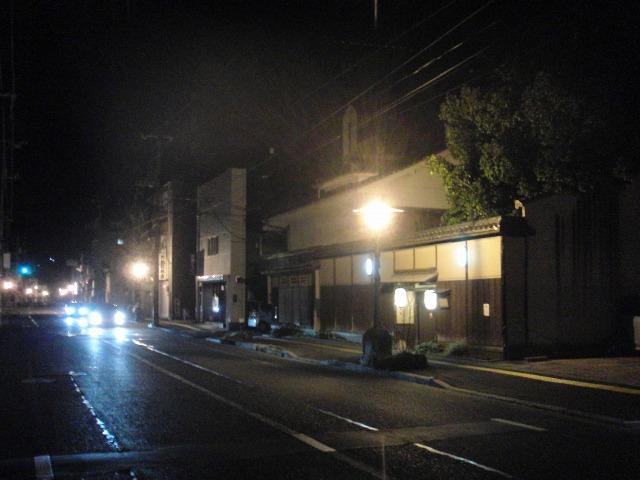 夜の尾道市内