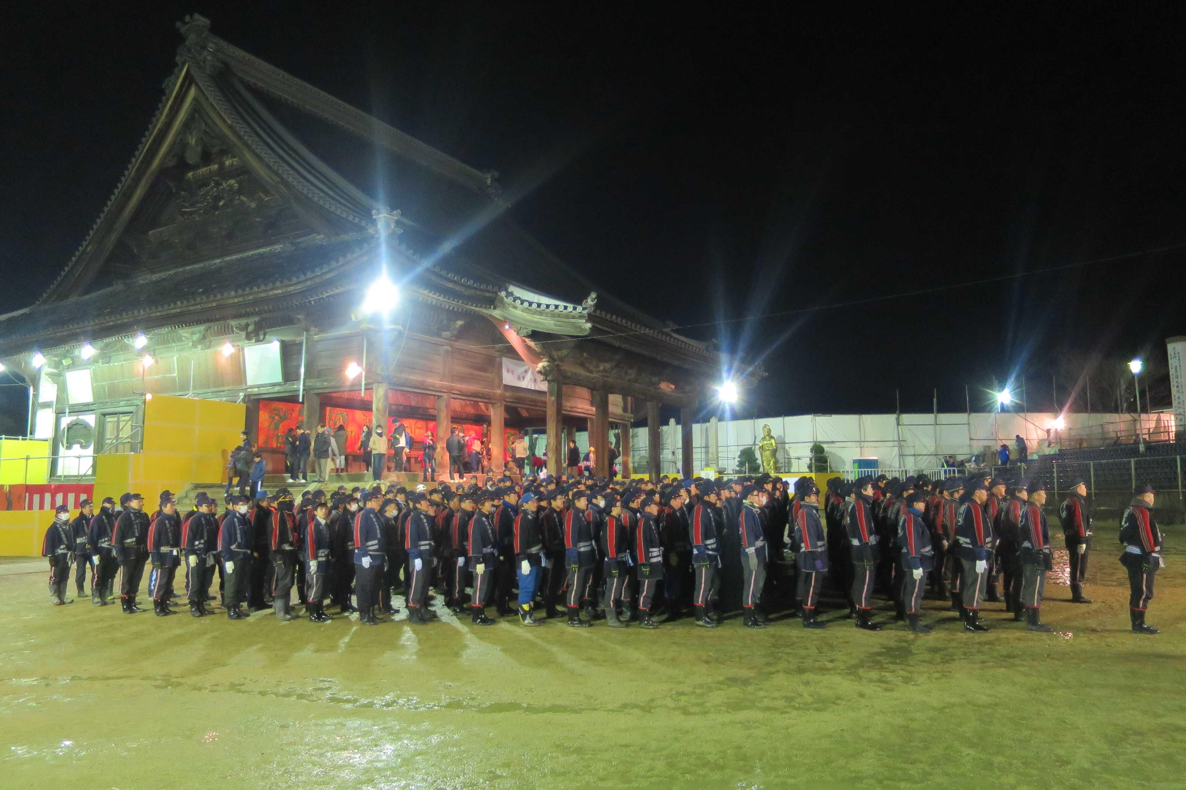 西大寺会陽 - 消防団