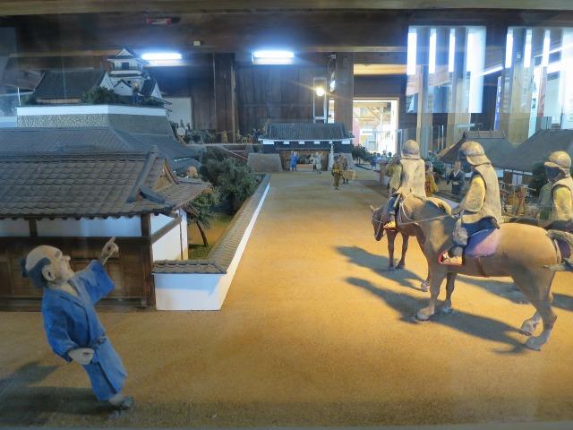 高知城のジオラマ