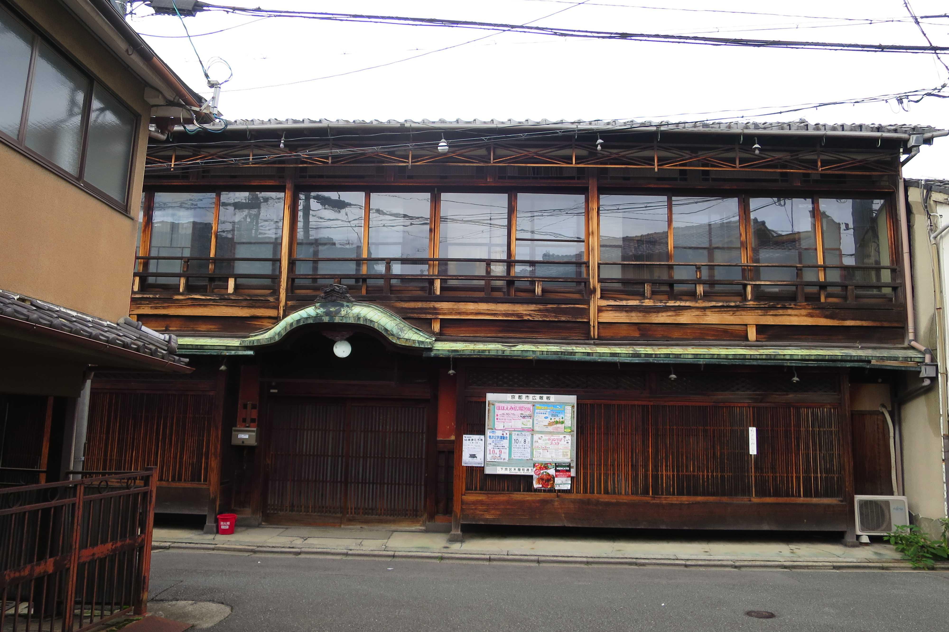 京都・五条 - 元遊郭の偉容(異様)