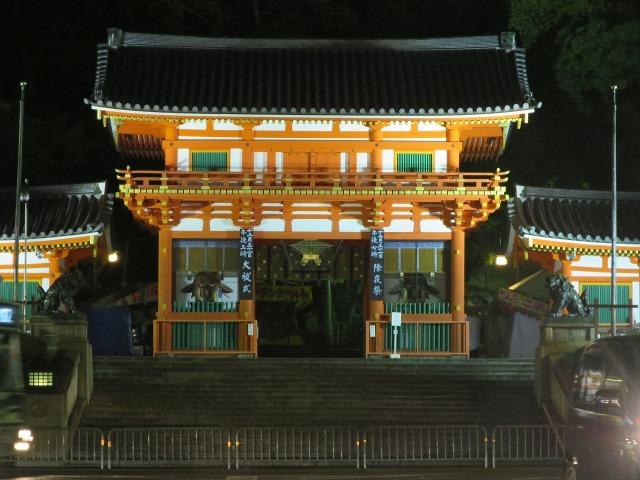 幻想的な八坂神社