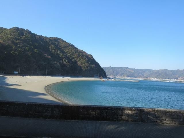 高知の名もなき浜
