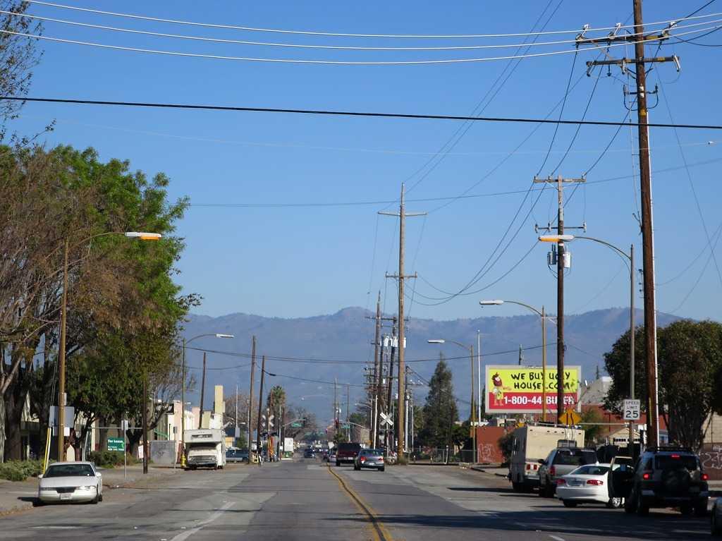 サンノゼ - モントレーロード(Monterey Street)
