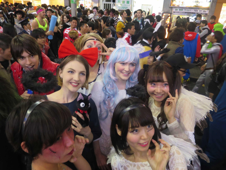 渋谷ハロウィン - 超可愛い外人の女の子