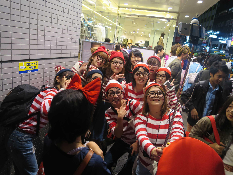 渋谷ハロウィン - ウォーリーを探せ