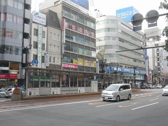 広島市内のチンチン電車の駅