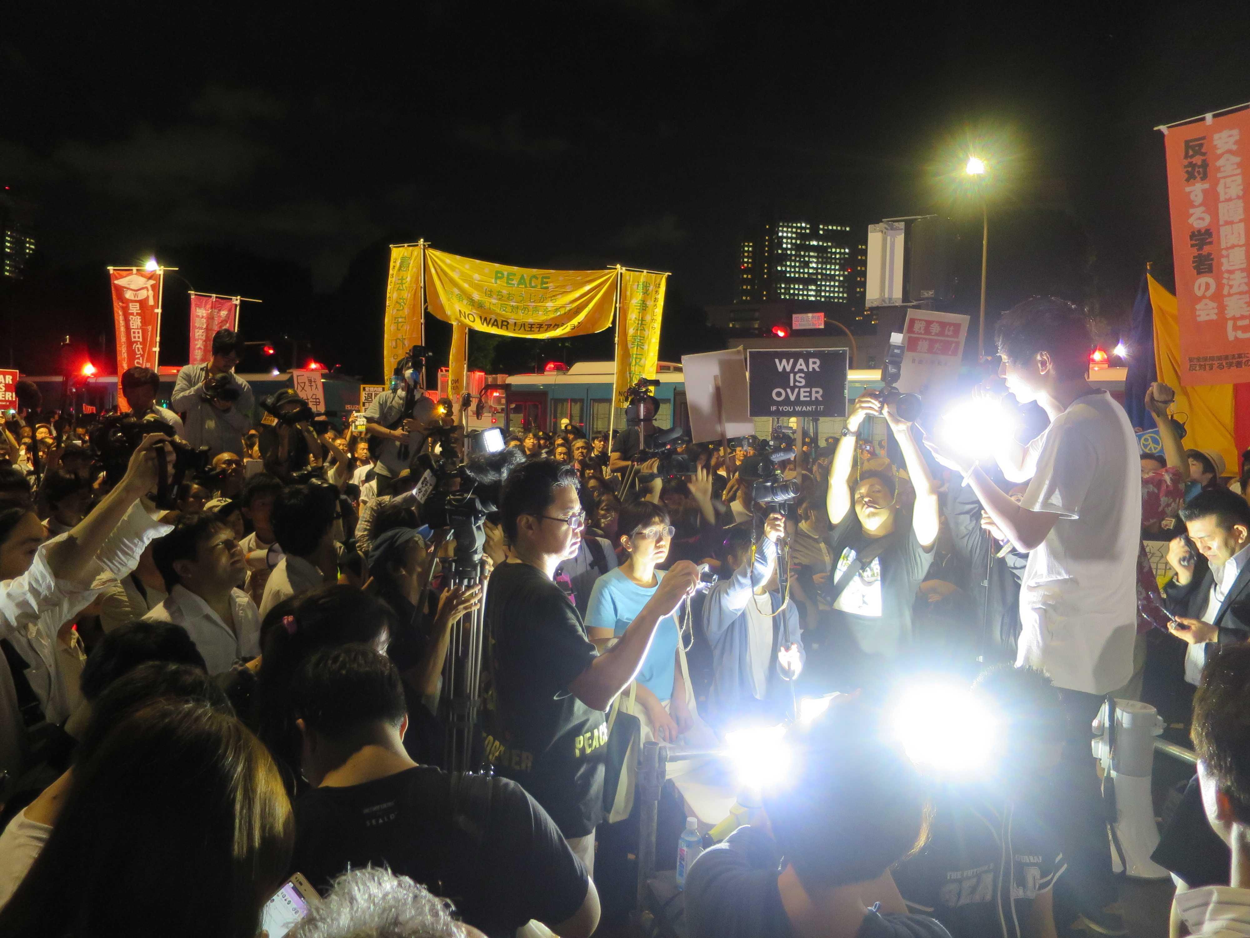 SEALDs(シールズ)… 国会前デモ、日本の学生や若者が立ち上がった