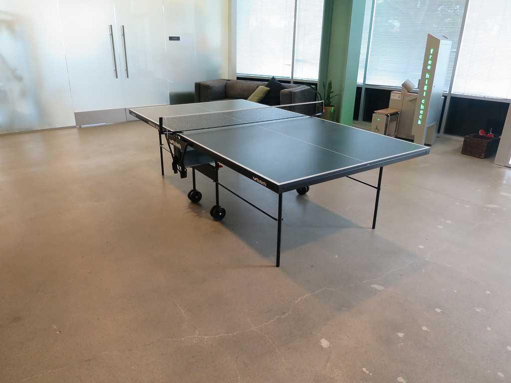EVERNOTE(エバーノート)本社の卓球台