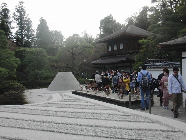 銀閣寺の庭園