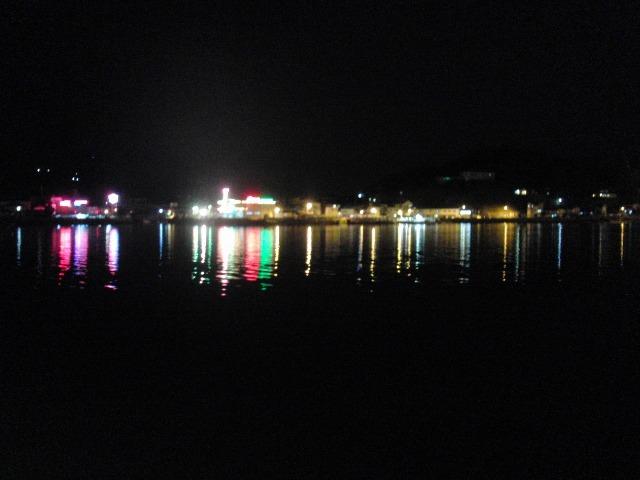 夜の尾道水道