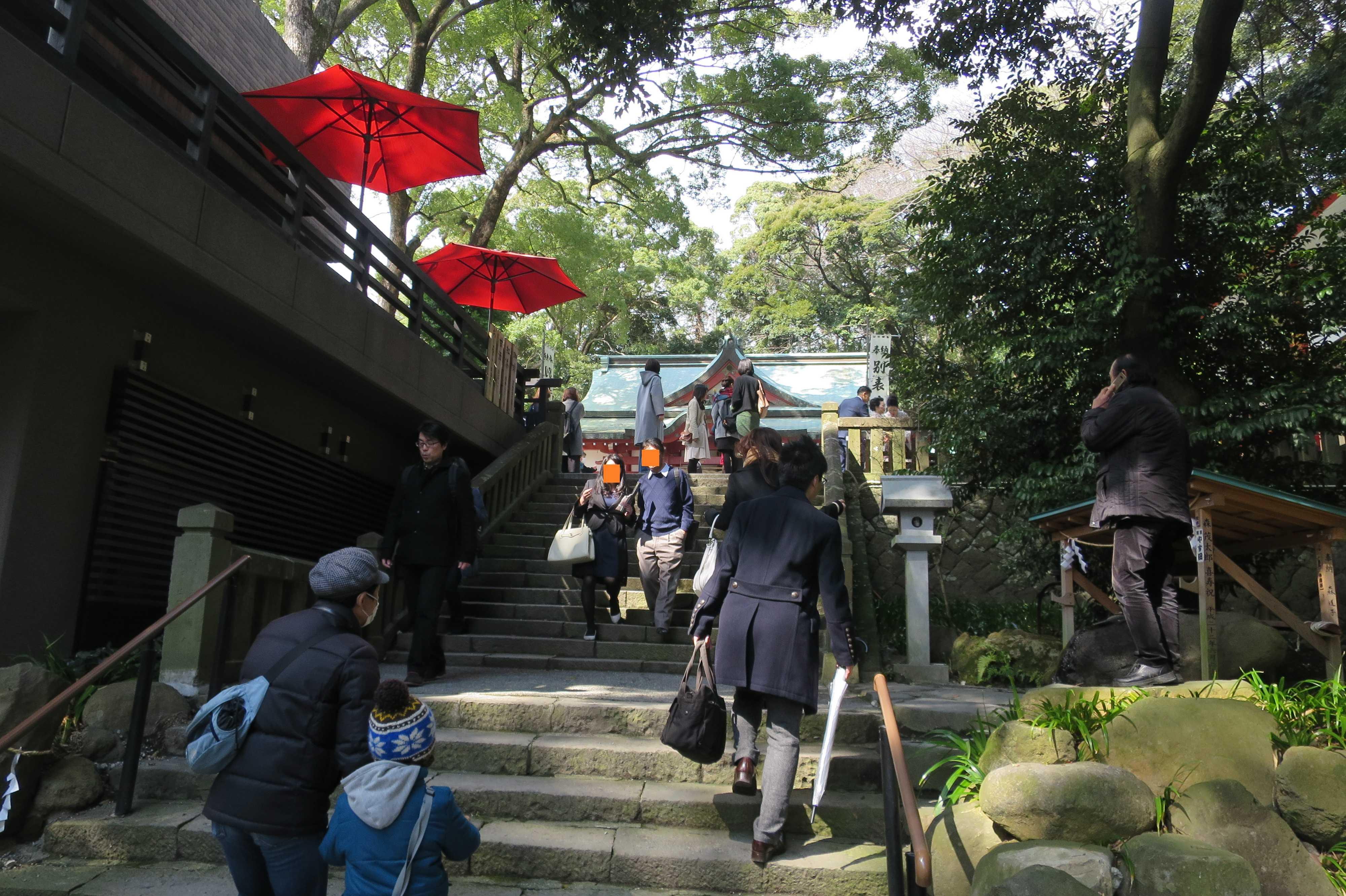 来宮神社 - 石段