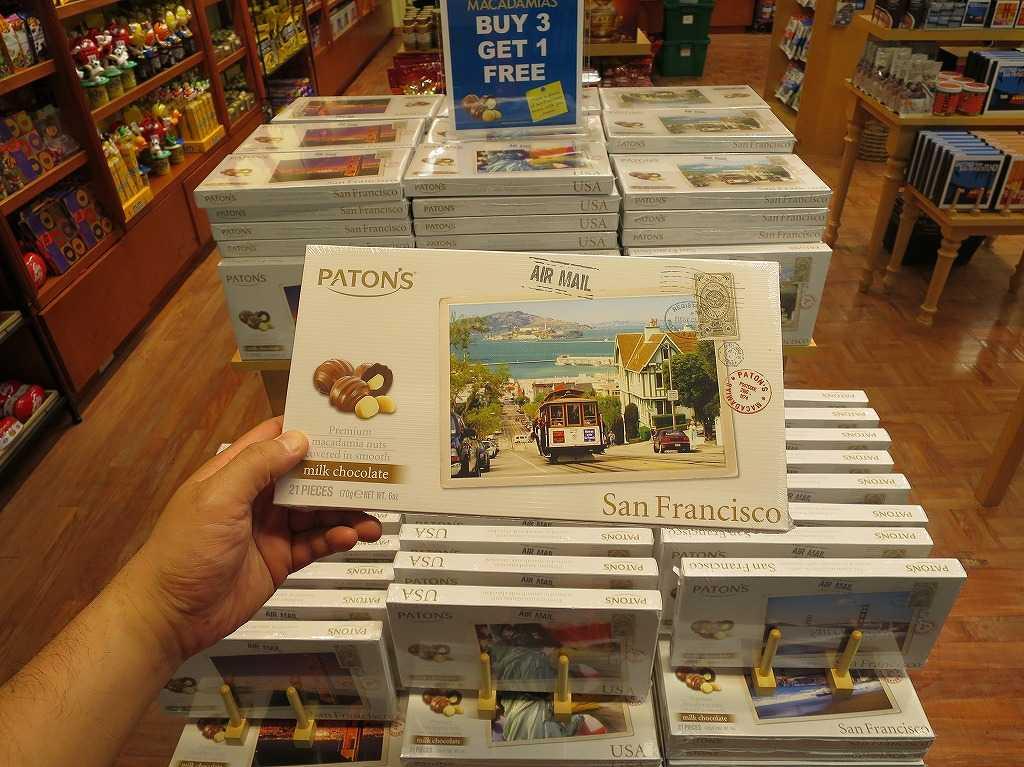 Paton's(ペイトンズ)のサンフランシスコチョコレート