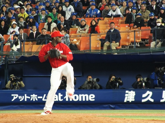 広島カープ・ヒース投手